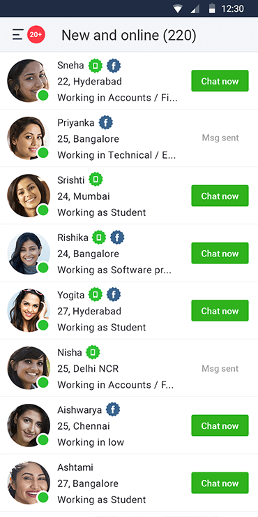 Indian dating app for android